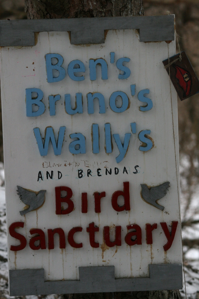 Ben's Bruno's Wally's & Brenda's Bird Sanctuary at High Park in Toronto, ON