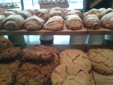 Pastry and cookies at Le Gourmand in Toronto, ON