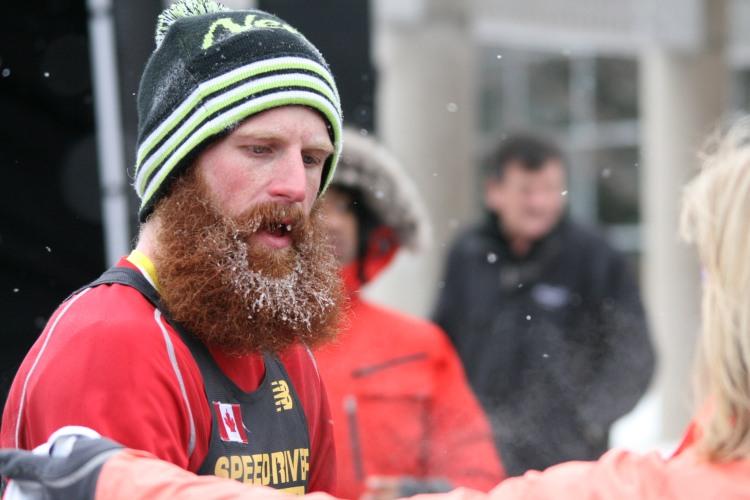 A top 10 finisher at half chilli marathon in Burlington, ON