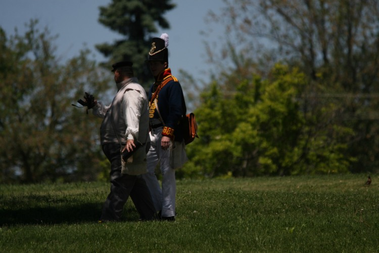 Old Fort Erie period costumes