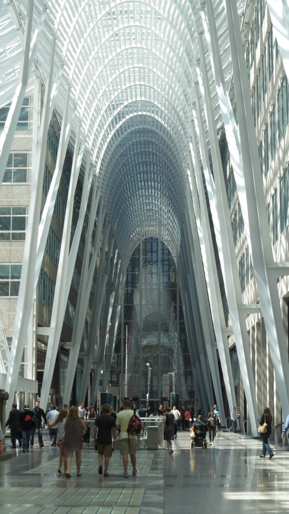 Brookfield Place's main concourse