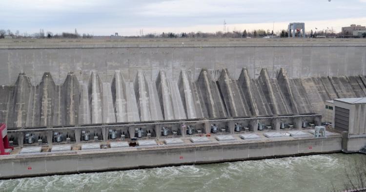 Sir Adam Beck Power Dam