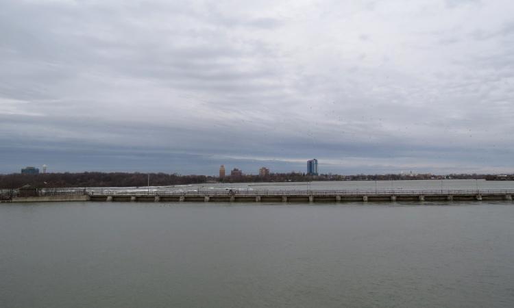 View of Niagara Falls, New York