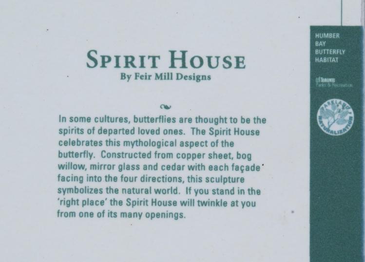 Spirit House signage