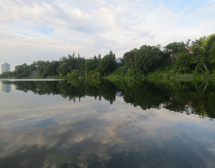 A view of Grenadier Pond